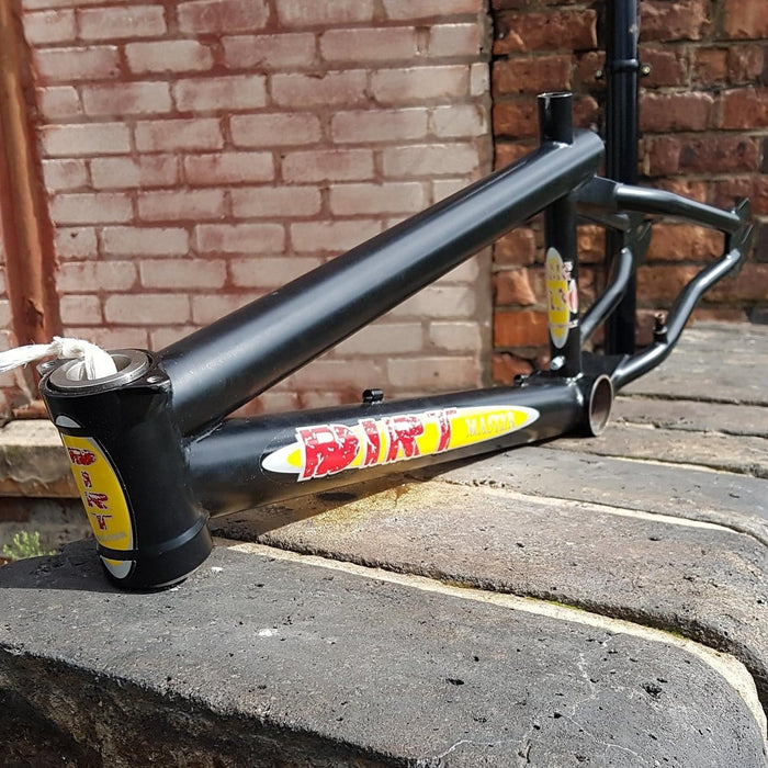 Dirt Master Mid School BMX Dirt Master Creature Frame Matt Black NOS