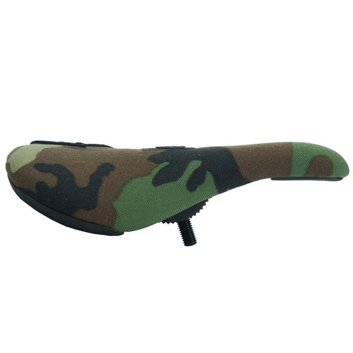 Federal BMX Parts Federal Slim Pivotal Logo Seat - Camo With Raised Black Stitching