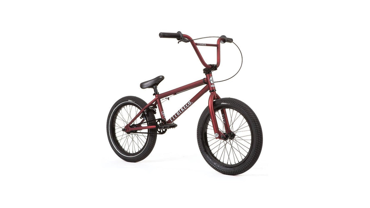 Fit Bike Co BMX Bikes FIT 2020 Eighteen 18 inch Matte Dark Red