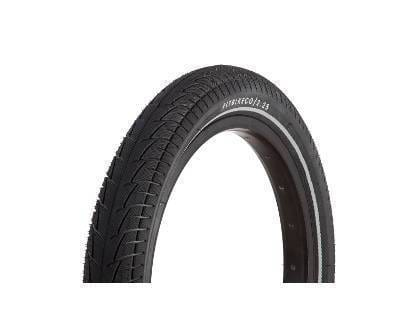 Fit Bike Co BMX Parts Fit Bike Co T/A Tyre 16 Inch Night Vision Tyre