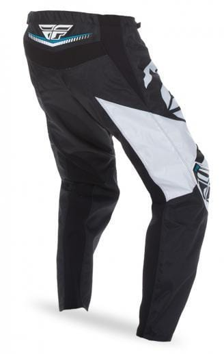 Fly Racing BMX Racing Fly Racing 2017 F-16 Kids Race Pants Black/White