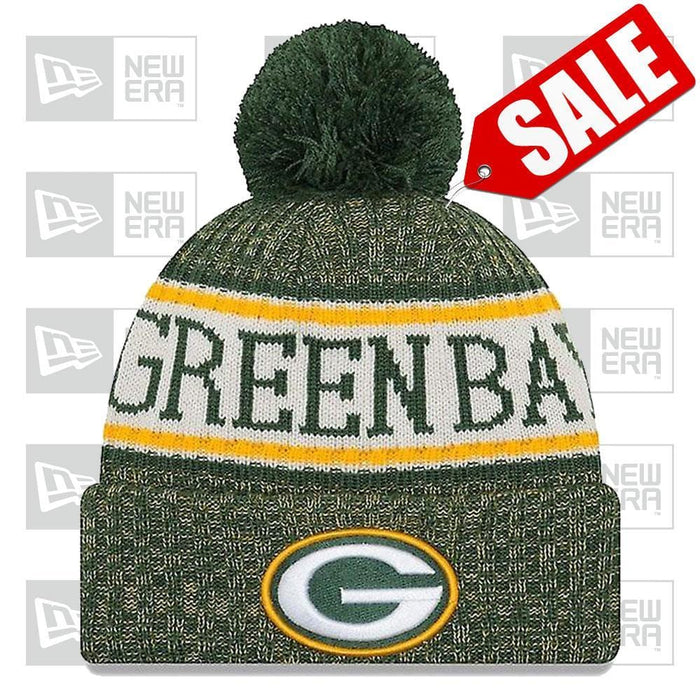 New Era Clothing & Shoes Green Bay Packers NFL 2018-19 Official Sideline Sport Knit New Era Pom
