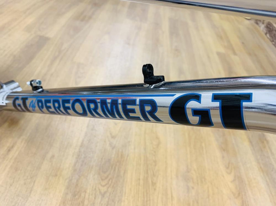 "GT BMX Parts GT 2017 Performer Frame & Fork 21"" Chrome"