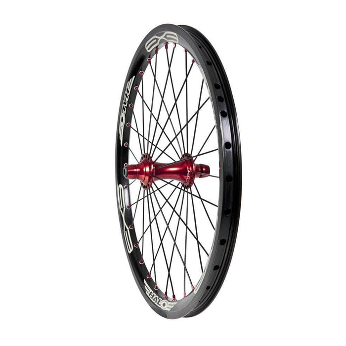 Halo BMX Racing Halo EX3 Expert BMX Front Race Wheel 20x1.50 Black/Red