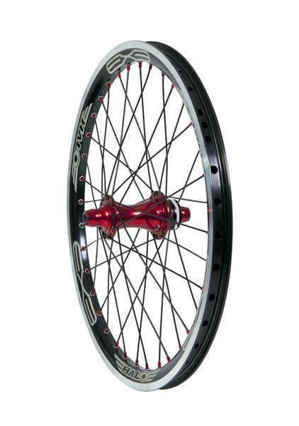 Halo BMX Racing Halo EX3 Expert BMX Rear Race Wheel 20x1.50 Black/Red