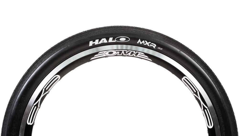 Halo BMX Racing Halo MXR-SLR Folding Race Tyre 20 Inch Black