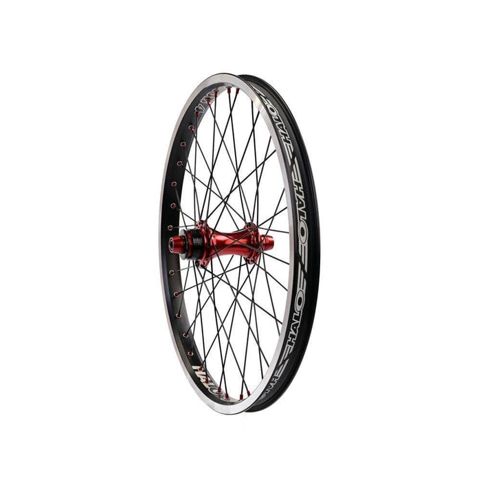 Halo BMX Racing Halo Sub-4 Supadrive Rear Cassette Race Wheel 20 inch Black/Red