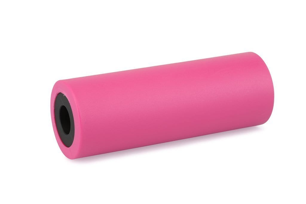 Haro BMX Parts Neon Pink Haro 78 Alloy/Plastic Peg Single with Extra Sleeve