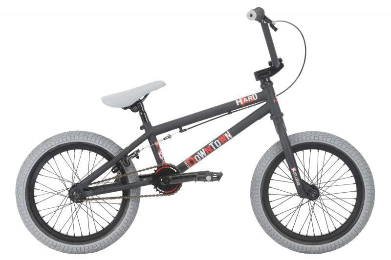 Haro BMX Bikes Haro Downtown 16 Inch Bike Matt Black