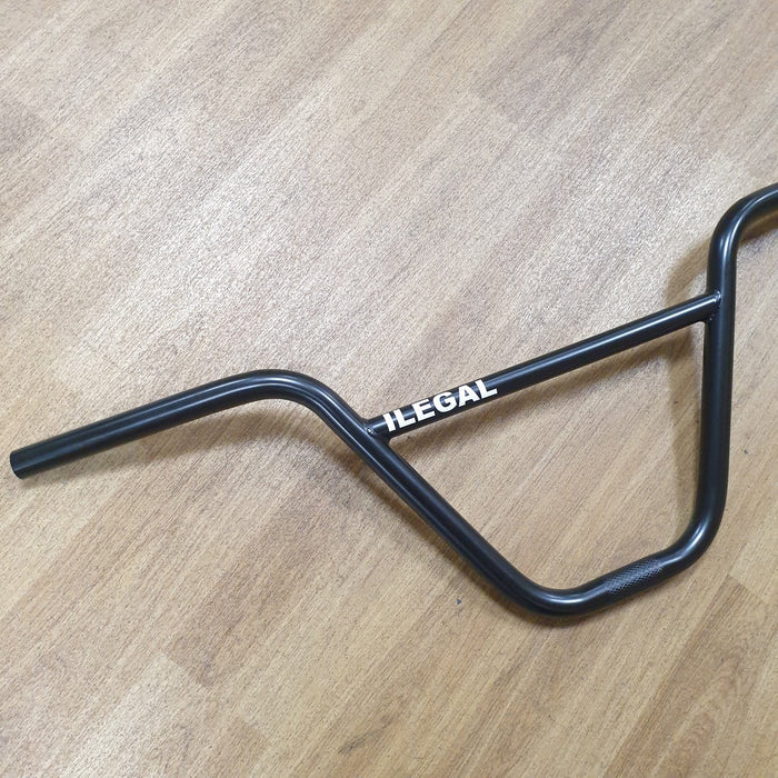 Ilegal BMX Parts Ilegal Handlebars 9.15 Black