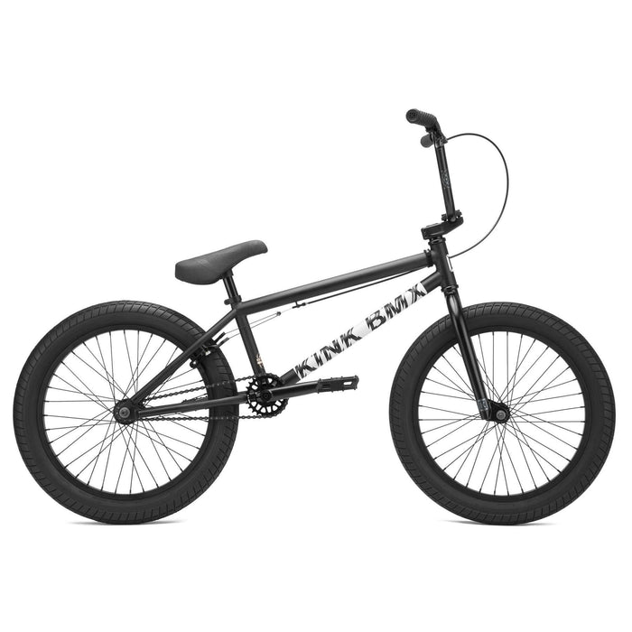 "Kink BMX Bikes Kink BMX 2021 Curb 20"" Bike Matte Dust Black"