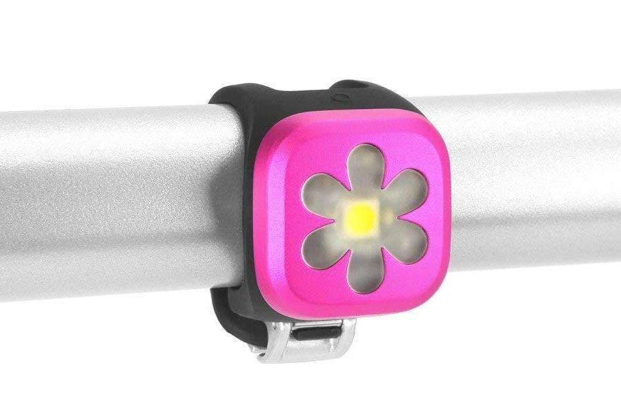 Knog POS Knog Blinder1 Front USB Light Flower Pink