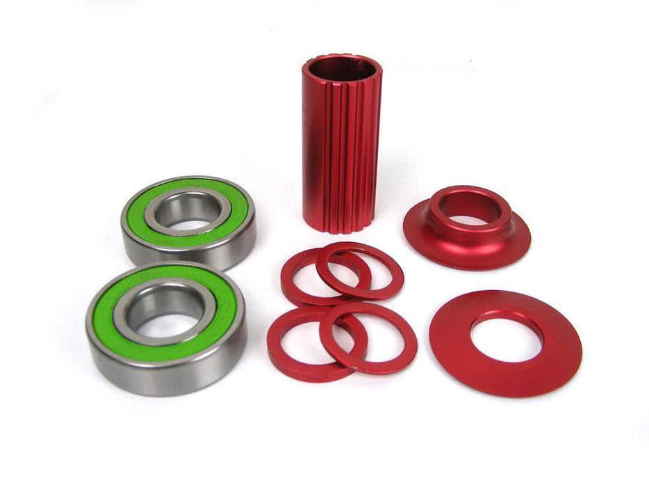 Mirage BMX Parts Mirage Mid Sealed Coloured Bottom Bracket 19mm
