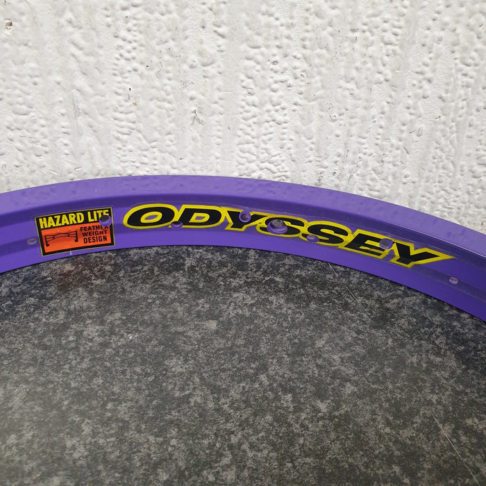 Odyssey BMX Parts Odyssey Hazard Lite Rim Limited Edition Painted Purple