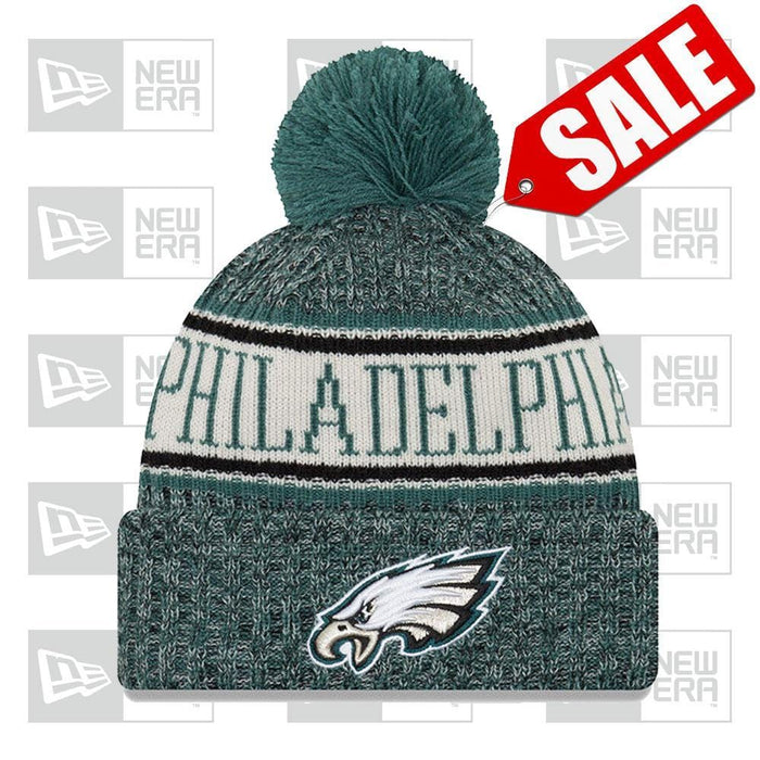 New Era Clothing & Shoes Philadelphia Eagles NFL 2018-19 Official Sideline Sport Knit New Era P