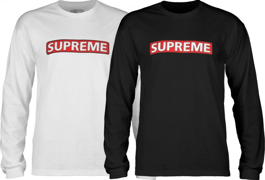 Powell Peralta Clothing & Shoes Powell Peralta Supreme Long Sleeve T-shirt