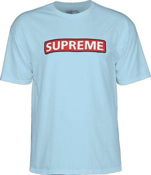 Powell Peralta Clothing & Shoes Powell Peralta Supreme T-shirt Powder Blue