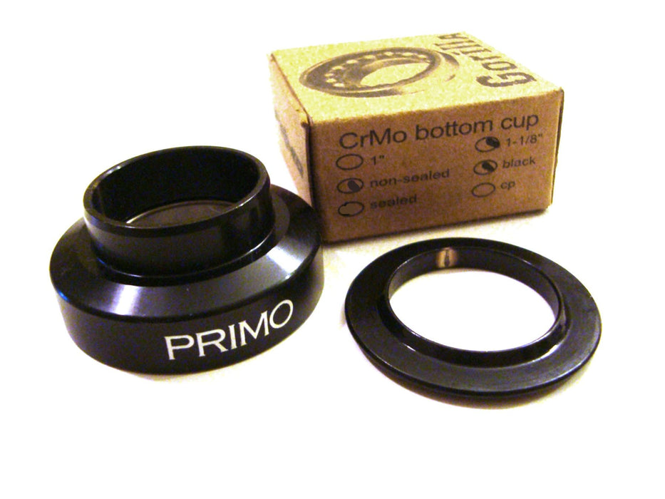 "Primo POS Primo Gorilla 1 1/8"" Press In Lower Headset Cup Black"