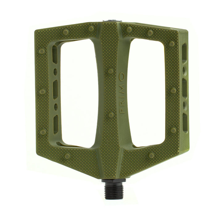 Primo BMX Parts Olive Green Primo Turbo Pedals