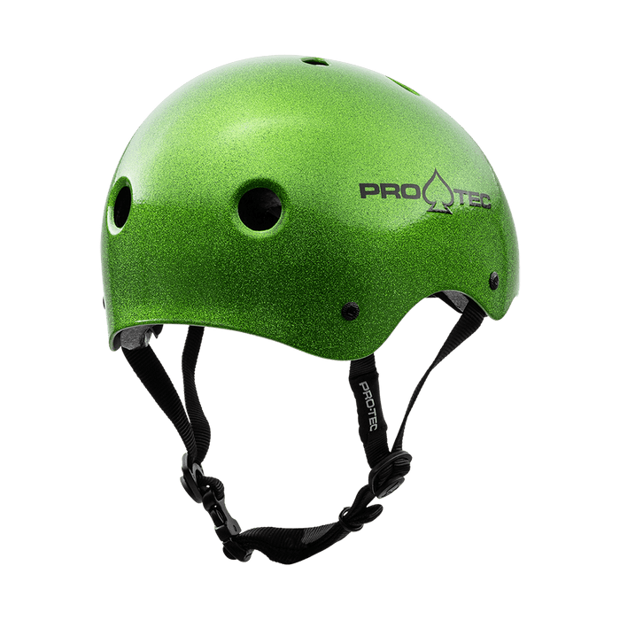 Pro-Tec Protection Pro-Tec Classic Certified Helmet Candy Green Flake