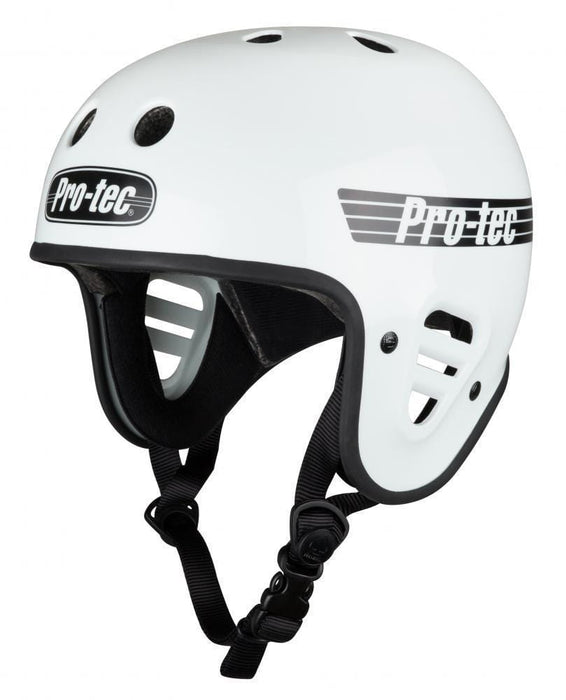 Pro-Tec Protection Pro-Tec Classic Full Cut Certified Helmet Gloss White