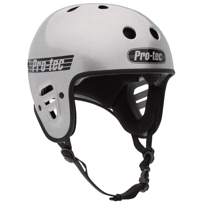 Pro-Tec Protection Pro-Tec Classic Full Cut Certified Helmet Silver Flake
