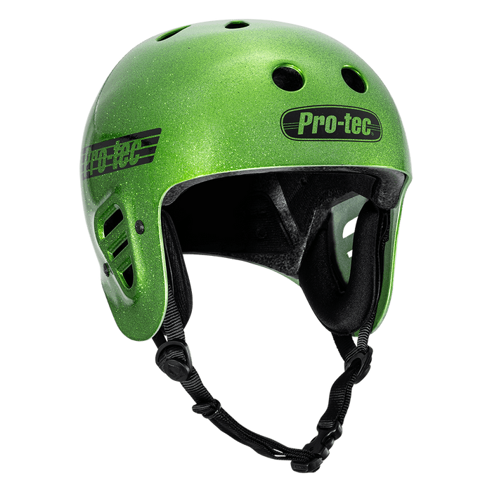 Pro-Tec Protection Pro-Tec Full Cut Certified Helmet Candy Green Flake