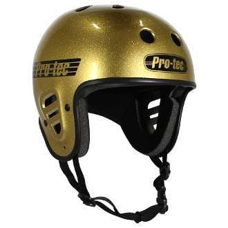 Pro-Tec Protection Pro-Tec Full Cut Certified Helmet Gold Flake