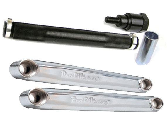 Profile BMX Parts Profile Cranks Chrome