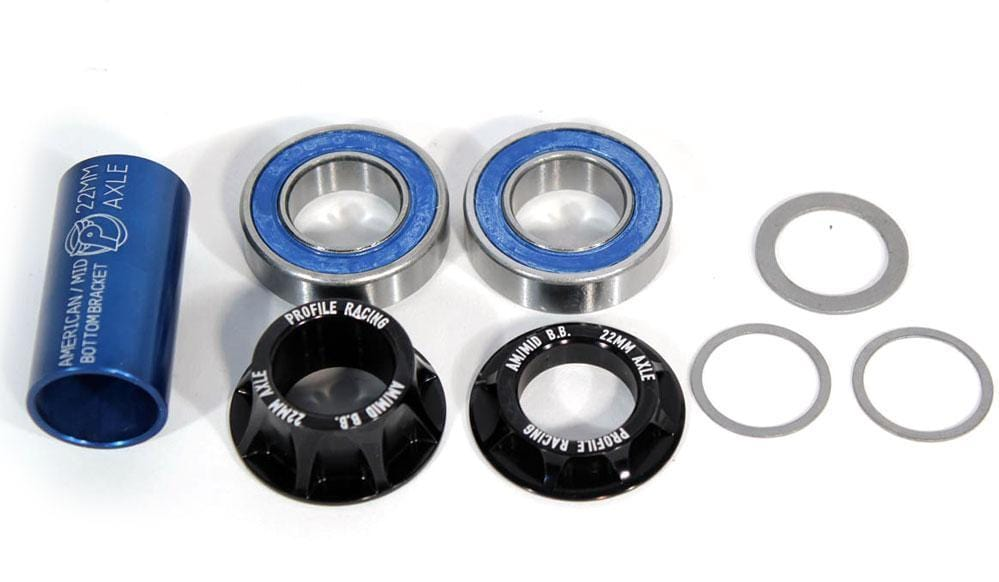 Profile BMX Parts Profile Mid Bottom Bracket 22mm