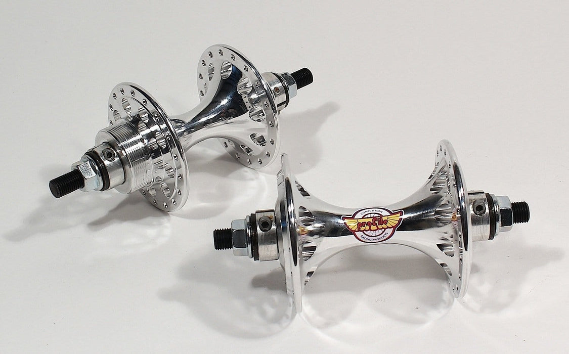 Profile Old School BMX Polished Profile Racing Gyrolite II Hubs Pair