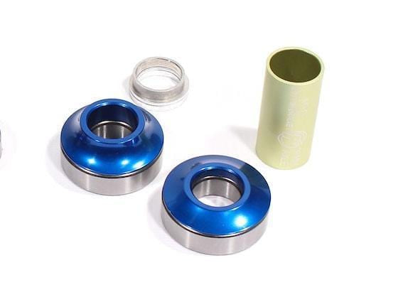 Profile BMX Parts Blue Profile Racing Mid Bottom Bracket 19mm