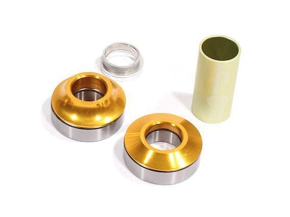 Profile BMX Parts Gold Profile Racing Mid Bottom Bracket 19mm