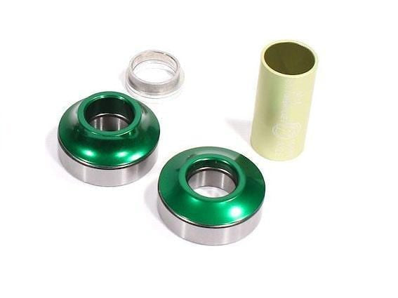 Profile BMX Parts Green Profile Racing Mid Bottom Bracket 19mm