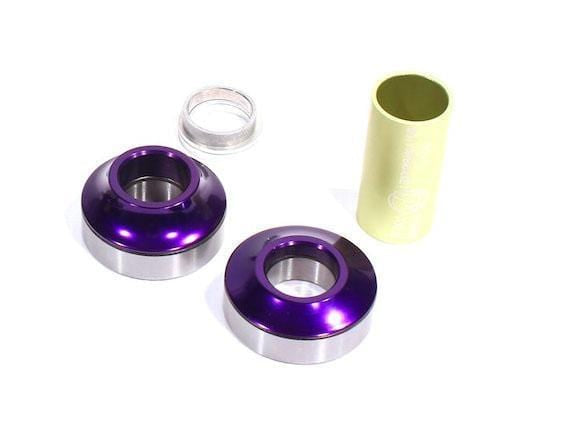 Profile BMX Parts Purple Profile Racing Mid Bottom Bracket 19mm