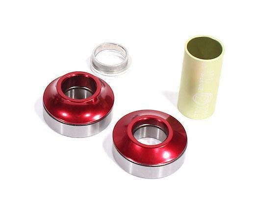Profile BMX Parts Red Profile Racing Mid Bottom Bracket 19mm