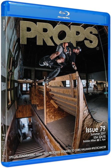 Props Misc Props Video Magazine Issue 79 Blu-Ray Disc