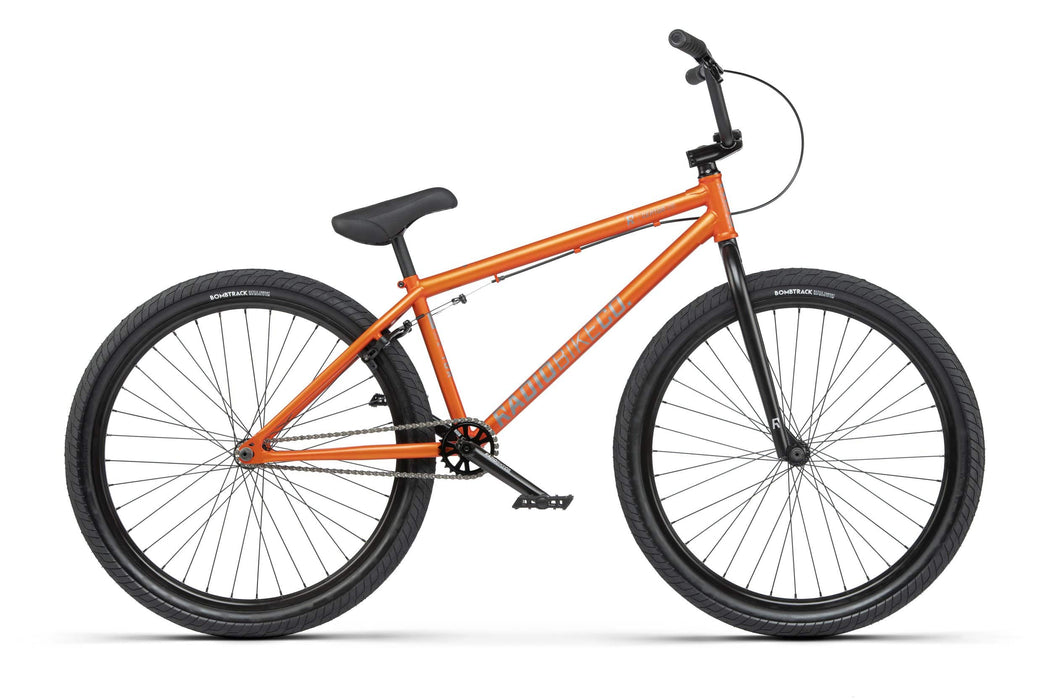 Radio BMX Bikes Radio 2021 Ceptor 26 Inch Bike Matt Metallic Burned Orange