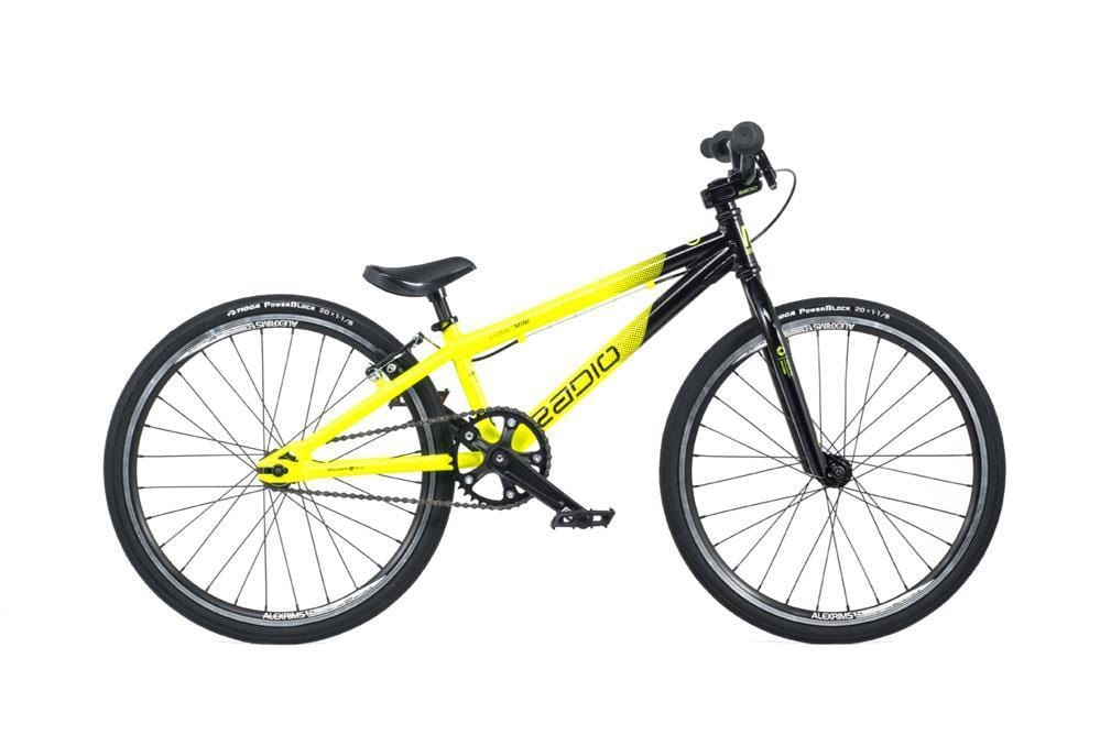 Radio Raceline BMX Racing Radio Raceline Cobalt Mini Race Bike Black/Yellow