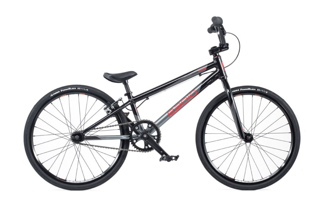 Radio Raceline BMX Racing Radio Raceline Xenon Junior Race Bike Black/Silver