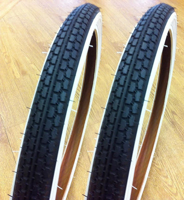 OLD SCHOOL 20X1.75 COMP 3 AMBER WALL BMX//BIKE//CYCLE TYRE NEW