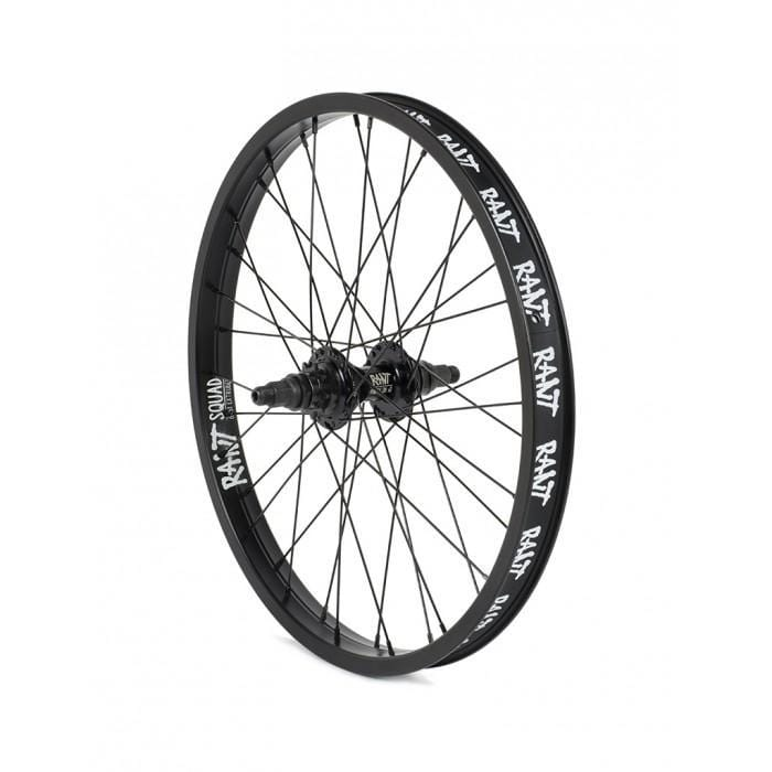 Rant BMX Parts Rant Party Cassette Rear Wheel Black