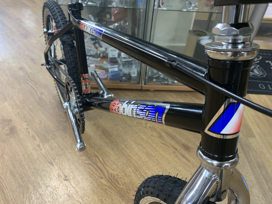 Robinson Old School BMX Robinson c1995 Custom Bike Black