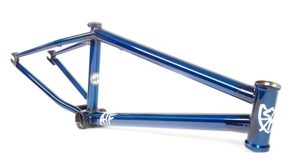 S&M BMX Parts S&M ATF 22 Frame Trans Blue