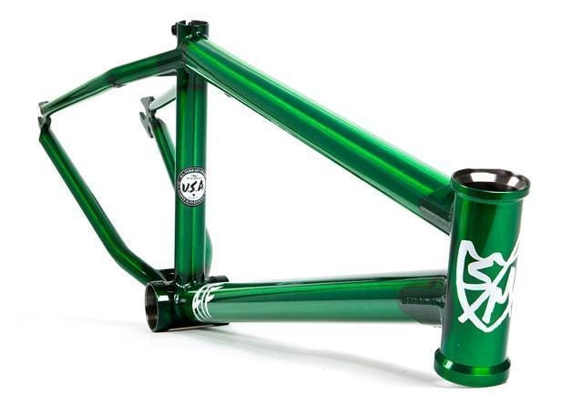 S&M BMX Parts Cruiser S&M ATF 24 Frame Trans Green