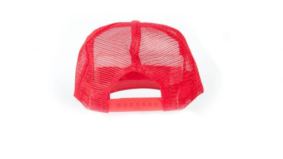 S&M Clothing & Shoes S&M Bolt Trucker Cap Red