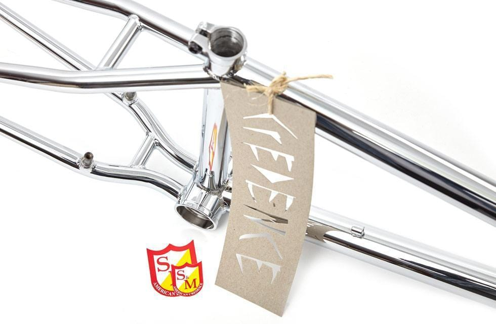 S&M BMX Parts S&M CCR Frame Chrome