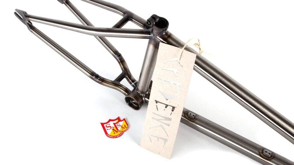 S&M BMX Parts S&M MOD Frame Gloss Clear