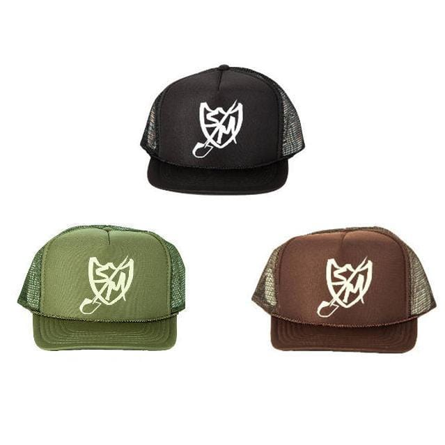 S&M Clothing & Shoes S&M Shovel Shield Trucker Cap