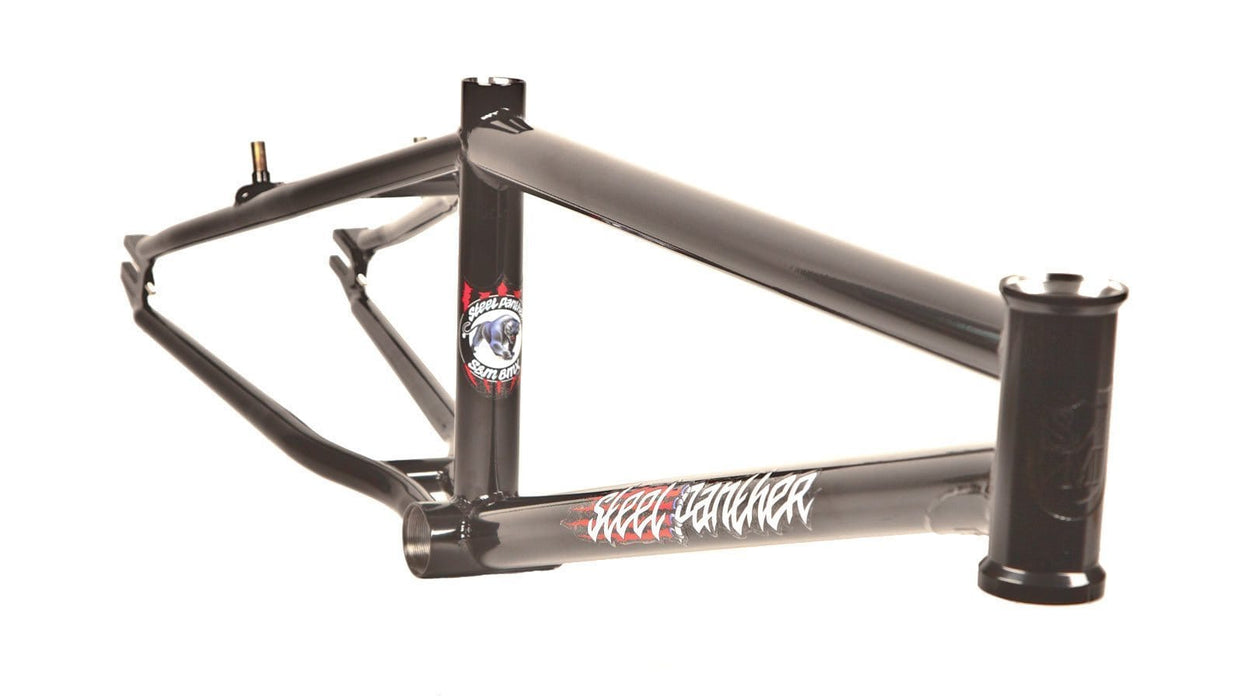 S&M BMX Racing S&M Steel Panther Race Frame Black